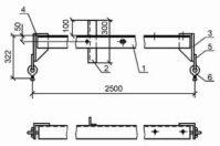 Траверса ТМ-19 (3.407.1-143.8.12) 38 кг
