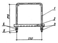 Кронштейн КМ-6 (3.407.1) 1,4 кг